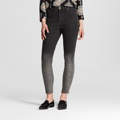 Women's High-rise Jegging Gray Ombre
