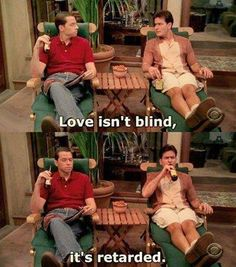 Love isn't blind