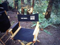 Awesome Lana's awesome director style chair #Once #BTS  #StevestonVillage #RichmondBC #Canada