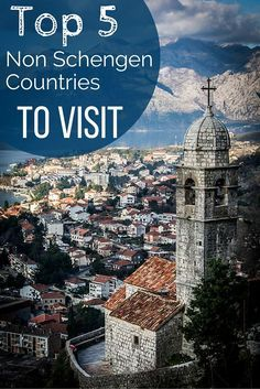 Top 5 Non Schengen Countries - great options to visit and chill out in while you are waiting until you can re-enter the schengen zone. But honestly, I recommend adding these countries to your itinerary anyway. Click through for more information