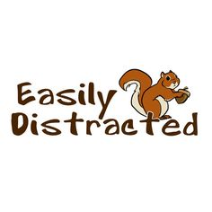 Easily Distracted Squirrel TShirt by InnateDesignPrinting on Etsy, $16.00