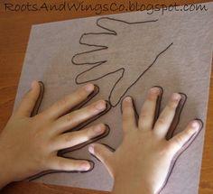 Shrinky Dinks - Creative idea: use Shrinky Dinks to make charms of your kids' handprints.