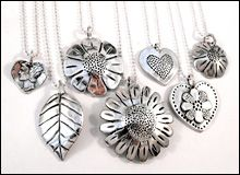 Pendants by Jessie Driscoll