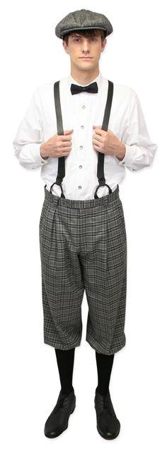 Newsboy Cap - Gray Wool Tweed