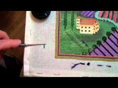 Video - Using A Laying Tool by David of Needlenook of La Jolla