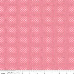 "Think Dots Pink from Riley Blake Designs New Collection ""Think Pink"" *Sold by 1/2 yd increments"
