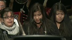 Rinelle Harper, the 16-year-old student who was brutally attacked last month and left for dead near the Assiniboine River, has added her voice to calls for a national inquiry into missing and murdered aboriginal women.