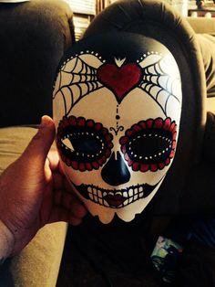 Sugar Skull / Dia De Los Muertos / Day of the Dead Mask