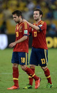 Juan Mata & Jordi Alba
