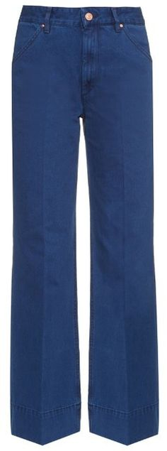 ISABEL MARANT ÉTOILE Pito high-waisted flared jeans