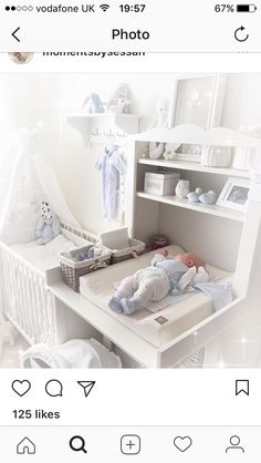 ideas baby room boy decor for 2019 Baby Boy Rooms, Baby Bedroom, Baby Room Decor, Baby Boy Nurseries, Baby Cribs, Nursery Room, Kids Bedroom, Baby Room Design, Baby Furniture