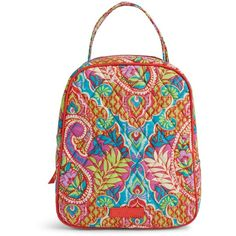 ca5a3900f450 Vera Bradley Lunch Bunch Bag in Paisley in Paradise ( 34) ❤ liked on  Polyvore