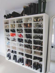 shoe storage + organization