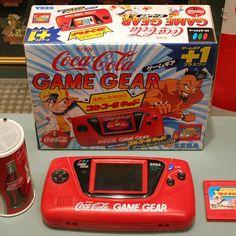 tween_games: #game #gamegear #sega #cocacola #cola #coca #retro #retrogames #retrica #gamegear #microobbit