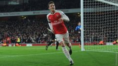 Gabriel's first goal for Arsenal and Ozil's strike seal three points for Arsenal after an encouraging performance