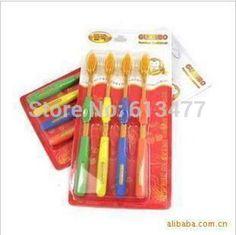 Корейская зубная щетка очень мягкая резинка-защитная - анион здоровья уголь зубная щетка 24 шт. = 6 упак. TB19