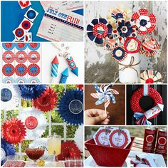 Forth of July decor