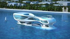 Beyond cool! Futuristic architecture of Marine Research Center in Indonesia