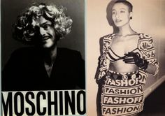 Fashion-Flashes de Moda by SARAH SUTTON: MOSCHINO una fashion.filosofia de vida. Style life...