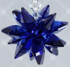 m/w Swarovski Crystal Cobalt Blue Dark Sapphire by pearlplaceNmore, $19.00