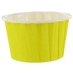Bright Ideas by Brother Sister Design Studio Yellow Candy Cups Yellow Candy, Yellow Paper, Paper Candy, 2nd Birthday Parties, Hobby Lobby, Cupcake Holders, Bright Ideas, Brother Sister, Cups