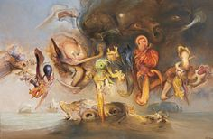 James Gleeson, Reinforcements , 1999 Australian Painters, Australian Art, Henry Thomas, Surrealism, Distortion, Painting, Artists, Image, Pintura