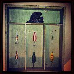recycled cutlery drawer shelf by Matthew Klassen