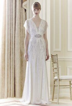 Great Gatsby-Inspired Wedding Dresses | Wedding Dresses | Brides.com | Brides