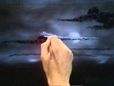 ▶ Bob Ross - Painting Hazy Clouds - Painting Video - YouTube