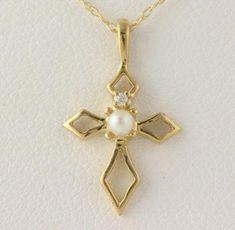 Victorian Gothic dark silver five petal filigree flower pendant chain necklace