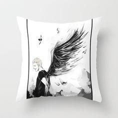 TMI MERCH  Fallen Throw Pillow