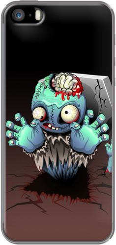 Zombie Monster Cartoon - BluedarkArt
