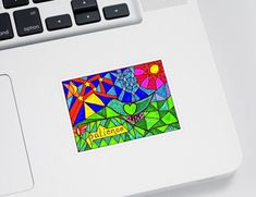 """Accessorize your life with unique stickers from an independent artist! Our vinyl stickers are available in four different sizes and are kiss-cut to create a 1/8"""" border around the perimeter of the design. Each sticker has an adhesive backing with plenty of stickiness to cling to any smooth surface while still being easy to remove. Thing 1, Patience, Galleries, Adhesive, Kiss, Surface, How To Remove, Smooth, Stickers"""