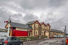 The old Railway Station, Donegal - now a railway museum