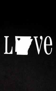 I kind of want this as a tattoo but without the l...ve around it. Just the state outline with the heart!