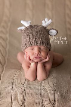 Amy Raab Photography » Birmingham Newborn Photographer. Specializing in Newborn, Child & Family Photography. baby deer. woodland newborn session