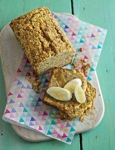 Banana and peanut crumble loaf