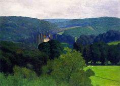 'gökdelenlerden tükürdüm dünyaya ben…' the chateau de barneville, félix vallotton, 1910