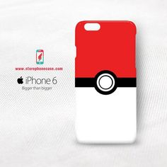 Pokemon Ball iPhone 6 Cover Case