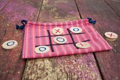 Easy clean up Tic Tac Toe by CreatedCustom on Etsy