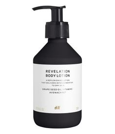 Revelation. A nourishing body lotion, made with safflower seed oil and vitamin E, delivers intense moisture to hydrate and repair the skin for silky-smooth