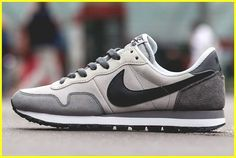 premium selection c58d2 38223 Nike s great grandpa steezin  sneak, the Air Pegasus is served here in some  subdued colourways perfect for the winter time. Dark grey suede panels up  back, ...