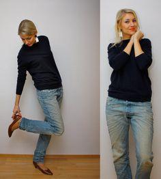 Jeans Diesel, sweater COS