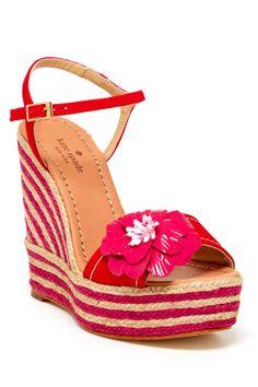 Kate Spade lainey platform wedge sandal