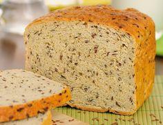 #Recette - #Pain sans #gluten aux graines de lin (avec machine à pain)