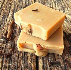 JudaJakoba / Prírodné bylinkové mydlo ŠKORICA - KLINČEK Prunus, Ale, Soap, Dishes, Ale Beer, Tablewares, Peach, Bar Soap, Soaps