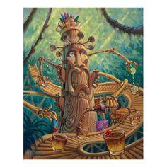Tikilixor Mai Tai Mixor by Thor . .  . tiki inspired art