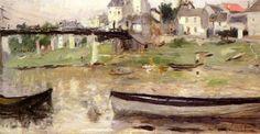 morisot berthe bateaux.sur la seine