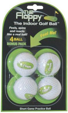 59d9d75e25a The Floppy Indoor Practice Golf Ball (3-Pack of Balls)