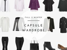 Fall & Winter Capsule Wardrobe (Office Edition)
